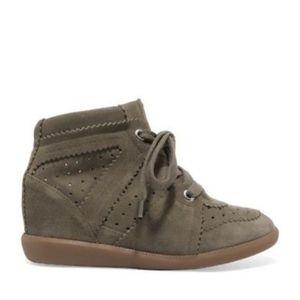 Isabel Marant Etoile Bobby Wedge Sneakers